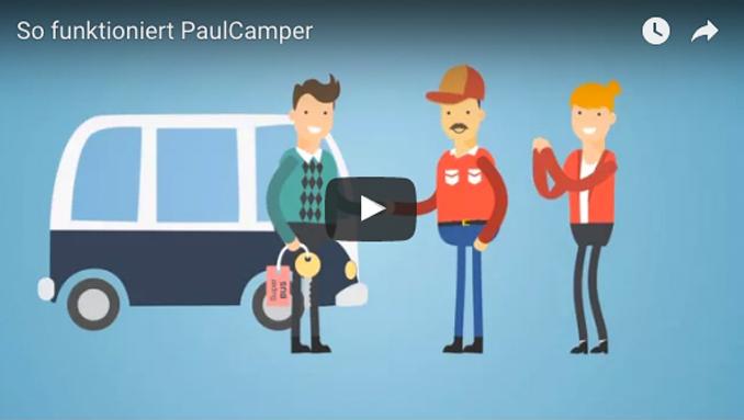 Video - So funktioniert PaulCamper