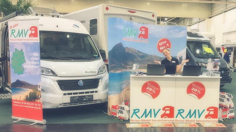 RMV Auf Dem Caravan Salon Düsseldorf