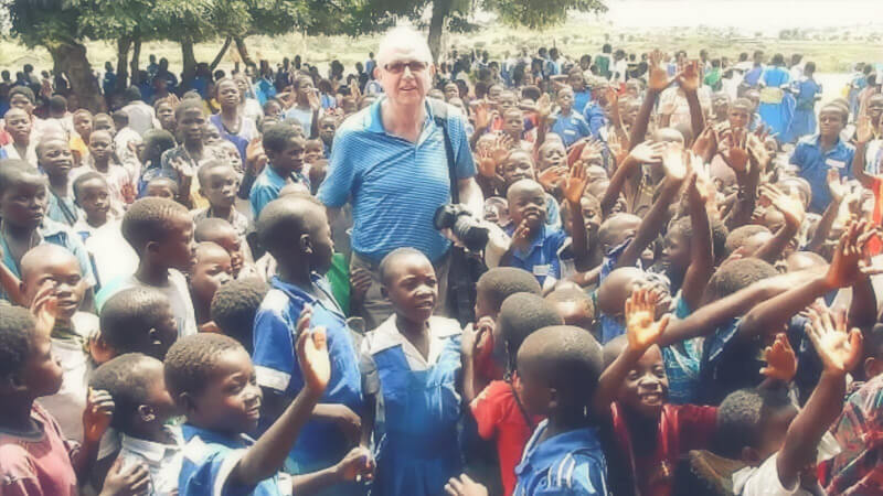 RMV Geschäftsführer Besucht Projekte Zur Entwicklungshilfe