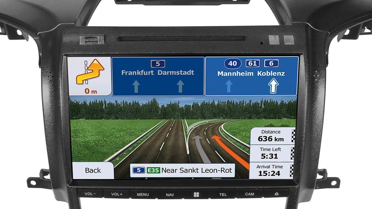 Das Navigationssystem ESX Vision ist eine Neuheit von Frankana Freiko